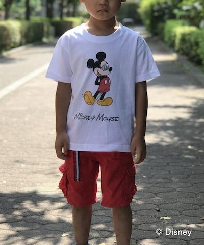 【KIDS商品】MICKEY MOUSE x GDC KIDS tee