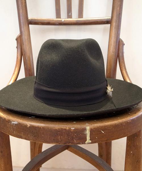 CA4LA×GDC WIDE FELT HAT