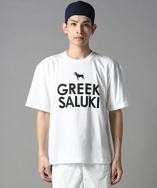 GREEK SALUKI BIG tee