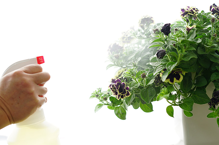 虫よけ!虫退治!「お徳用 ゲキのひと吹き 詰め替え用:1000cc原液」木酢液に酵素とニームを配合!天然素材だけで作った安心の虫除けです!