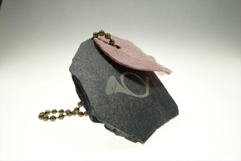 月光荘のお守り石