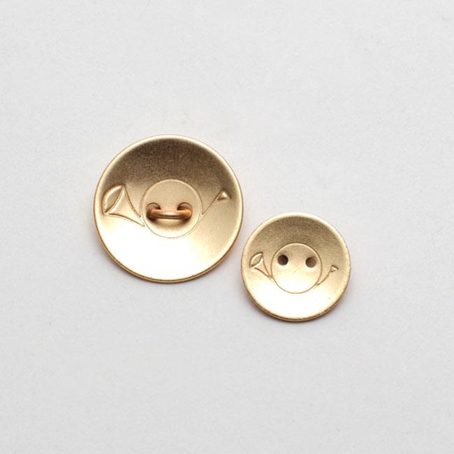 金ボタン(小)