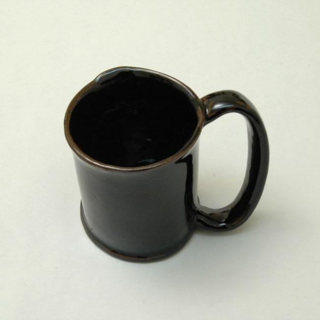 マグカップ(黒) ネコポス不可・宅急便発送のみ