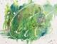 色と選書と絵画の企画展作品(4月)