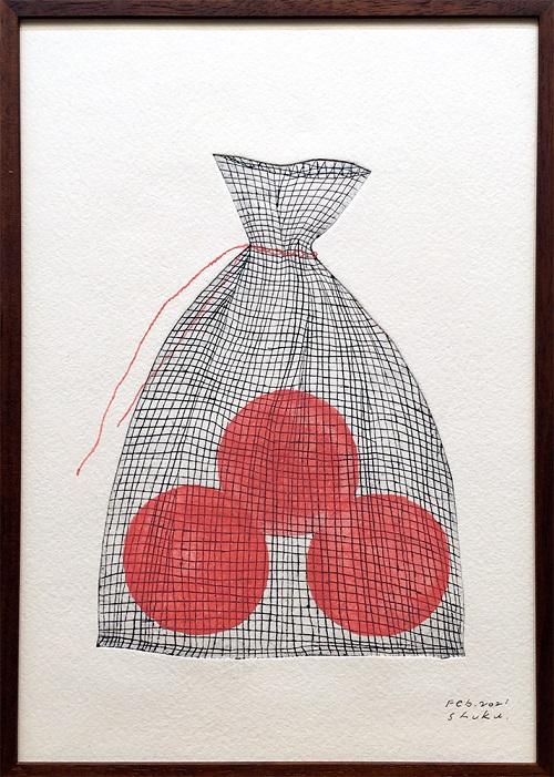 色と選書と絵画の企画展作品(3月)