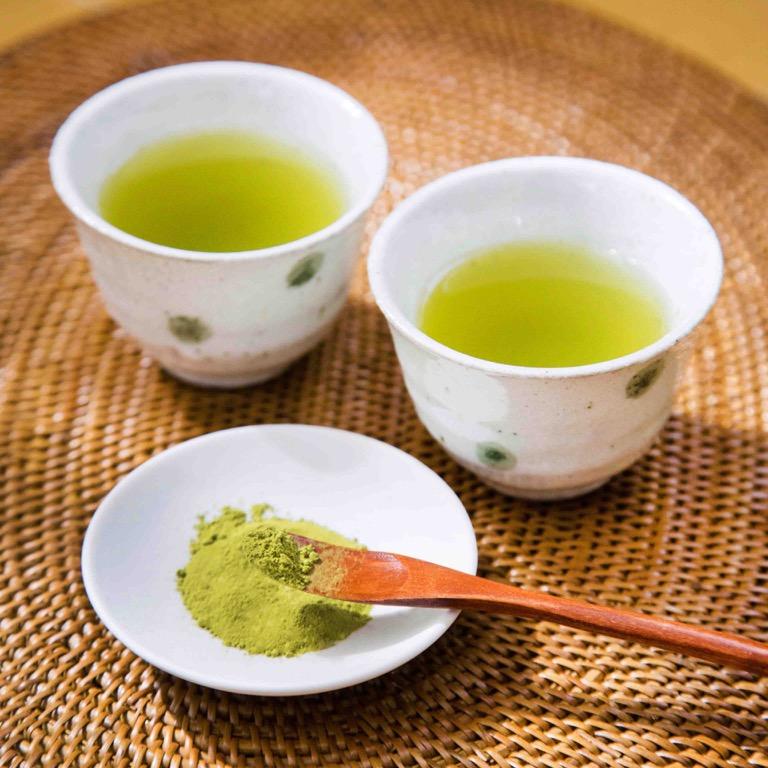 宮原茶園の無農薬知覧茶 煎茶パウダー(水出し可)