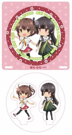 刀使ノ巫女アクリルコースターA(可奈美&姫和)