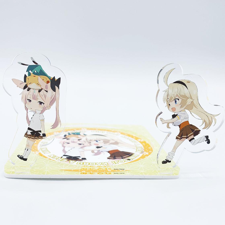 刀使ノ巫女 アクリルコースターC(薫&エレン)