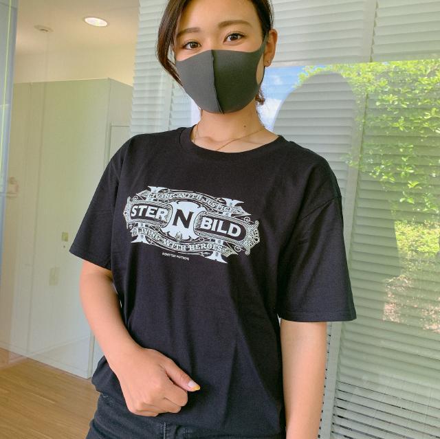 TIGER & BUNNY シュテルンビルトシリーズ Tシャツ ブラック