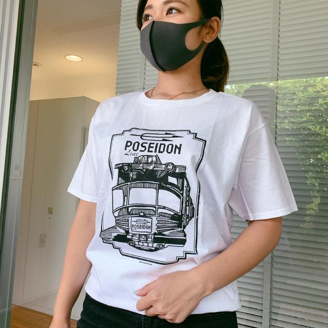 TIGER & BUNNY POSEIDON LINE シリーズTシャツ ホワイト