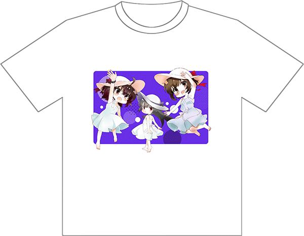 刀使ノ巫女&みにとじ/ ファンミーティング記念 Tシャツ