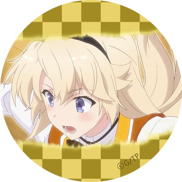 刀使ノ巫女/アクリルキーホルダー&缶バッジセット 古波蔵エレン