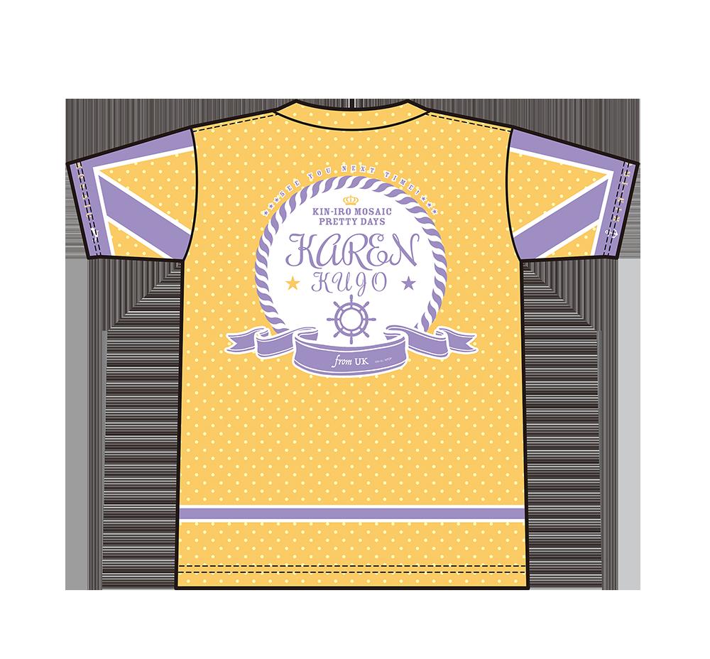 【セール50%OFF】きんいろモザイク Pretty Days/フルグラフィックTシャツ カレン