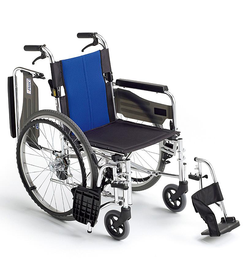 自走型 車いす BAL-3 BAL−3 バルシリーズ MIKI 株式会社ミキ 車イス 車椅子 代引き不可