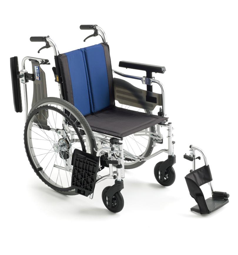 自走型 車いす BAL-5 BAL−5 バルシリーズ MIKI 株式会社ミキ 車イス 車椅子 代引き不可