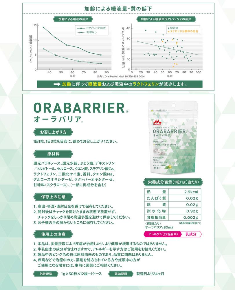 クリニコ ORABARRIER (オーラバリア) 1g×30粒×12袋