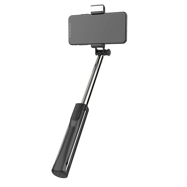 【新品】Libra LEDライト・リモコン付き 三脚にもなるセルカ棒 [LBR-LEDSS]