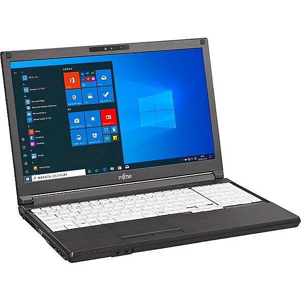 【リファビッシュ】富士通 15.6型 LIFEBOOK A5510/D [FMVA82022] (Core i5-10310U 1.7GHz/ メモリ8GB/ SSD256GB/ DVD-ROM/ Wifi(ax),BT/ MS Office/ 10Pro64bit)