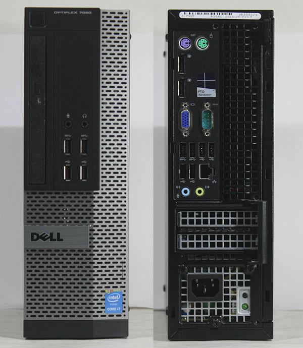 3台セット 【良品中古】 DELL Optiplex 7020 (Core i7-4790 3.60GHz/ メモリ16GB/ SSD240GB/ DVDスーパーマルチ/ 10Pro64bit)