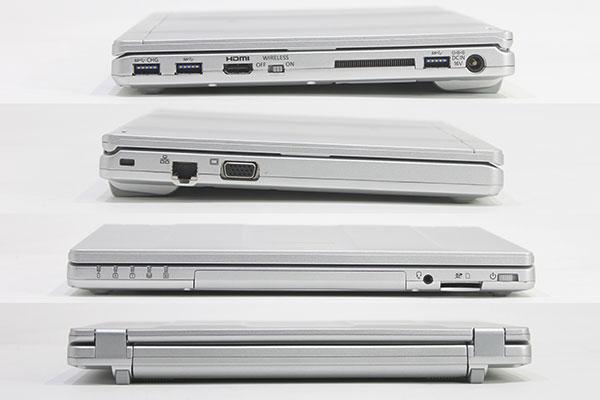 【中古・難有】 Panasonic 12.1型 Let'sNote CF-SZ6 [CF-SZ6R15VS] (Core i5-7300U 2.6GHz/ メモリ8GB/ SSD256GB/ Wifi,BT/ 10Pro64bit)※画面キズ・シミあり