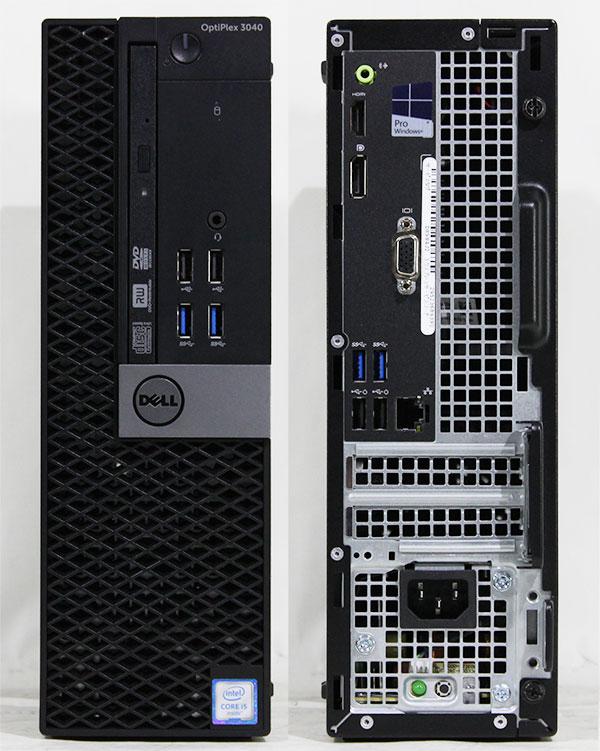 【良品中古】 DELL Optiplex 3040 SFF (Core i5-6500 3.20GHz/ メモリ8GB/ SSD240GB/ DVDスーパーマルチ/ 10Pro64bit)