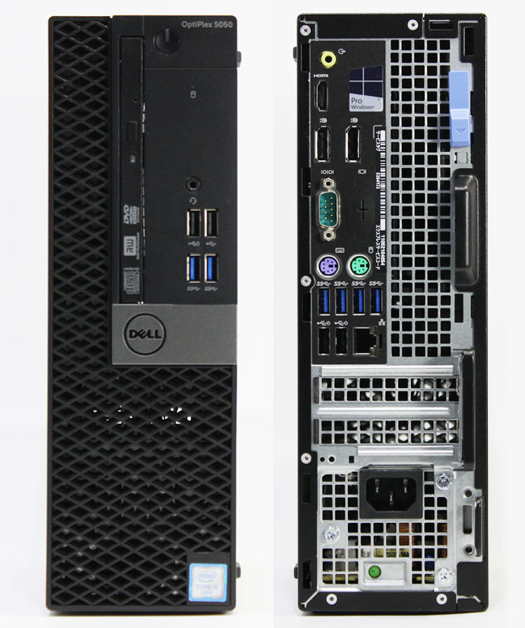 【良品中古】 DELL Optiplex 5050 SFF (Core i5-6600 3.30GHz/ メモリ8GB/ SSD256GB/ DVDスーパーマルチ/ 10Pro64bit)