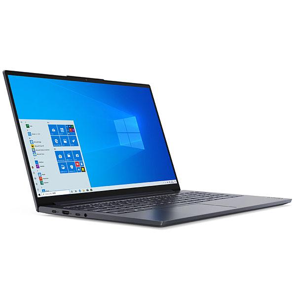 【アウトレット】Lenovo 15.6型 Yoga Slim 750i [82AB003AJP] (Core i7 10750H 2.6GHz/ メモリ16GB/ SSD512GB/ Wifi(ax),BT/ GTX 1650/ MS Office/ 10Home64bit)