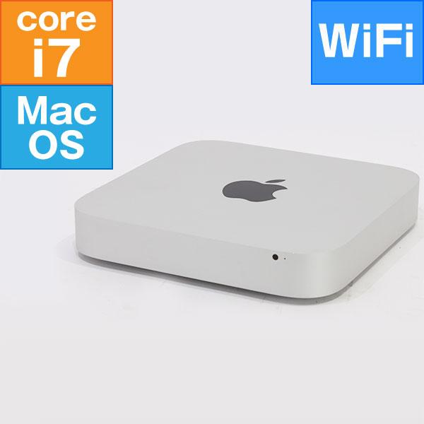 【良品中古】  Apple Mac mini Late 2014 (Core i7 3.0GHz/ メモリ8G/ 1.0TB/ Wifi、BT/ MacOSX)