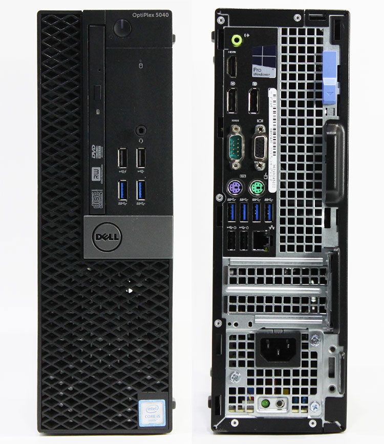 【良品中古】 DELL Optiplex 5040 SFF (Core i5-6500 3.20GHz/ メモリ16GB/ SSD240GB/ DVDスーパーマルチ/ 10Pro64bit)
