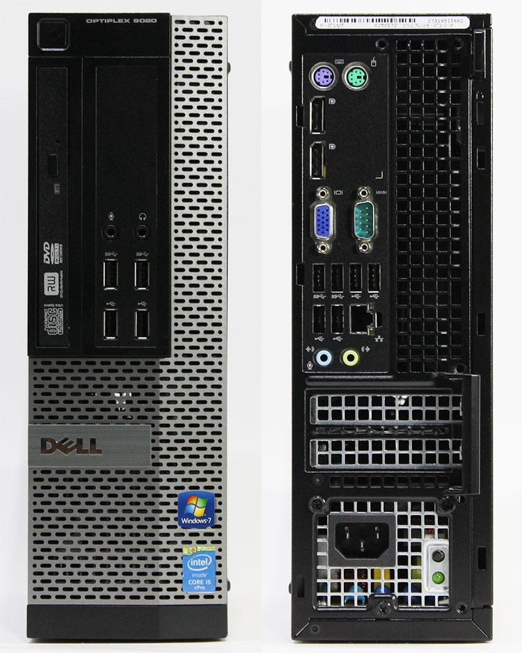【良品中古】 DELL OPTIPLEX 9020 SFF (Core i5-4690 3.5GHz/ メモリ8GB/ SSD240GB/ DVDスーパーマルチ/ 10Pro64bit)