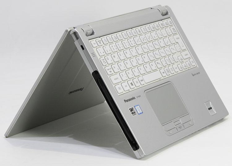 【中古・難有】 Panasonic 12.5型 Let's note MX5 [CF-MX5PF6VS] (Core i5-6300U 2.4GHz/ メモリ8GB/ SSD256GB/ Wifi、BT/ 10Pro64bit)※画面内埃、画面シミ・キズあり
