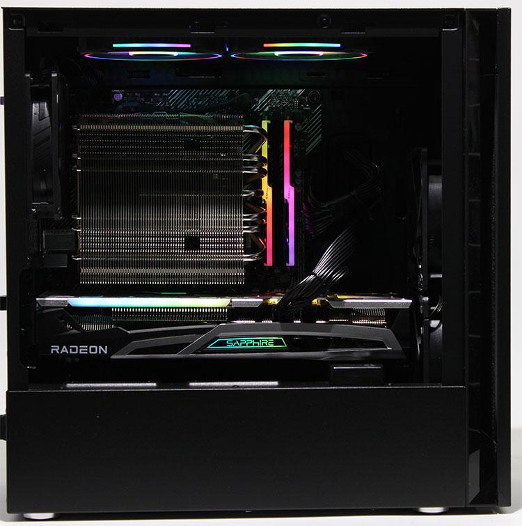 【オリジナルPC】 GENOゲーミングPC MicroATX型 (Ryzen 9 3900X 3.8GHz/ メモリ16GB/ SSD1.0TB/ Radeon RX6700XT/ 10Pro64bit)