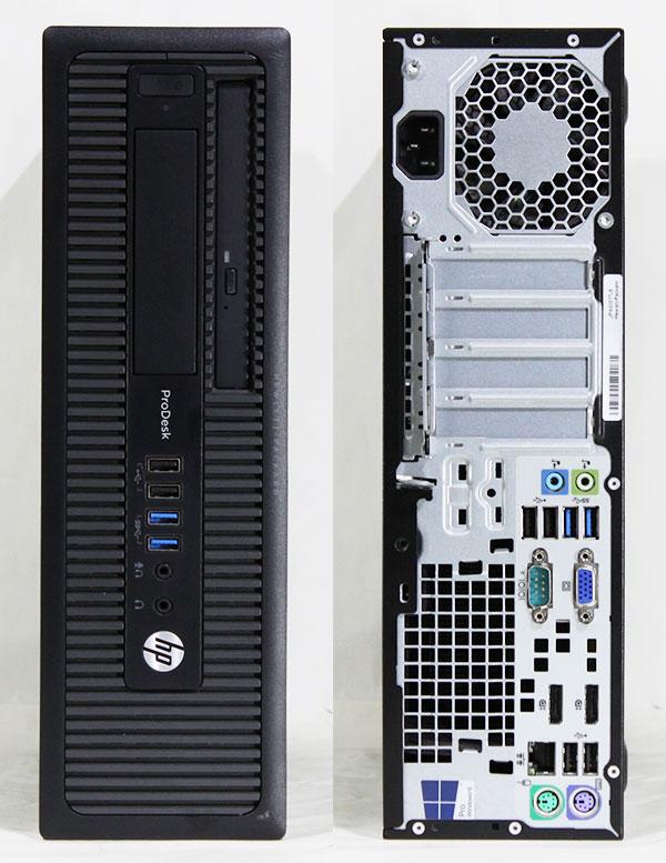 【良品中古】 HP ProDesk 600 G1 SFF [C8T89AV] (Core i7-4790 3.60GHz/ メモリ16GB/ SSD240GB/ DVD-ROM/ 10Pro64bit)