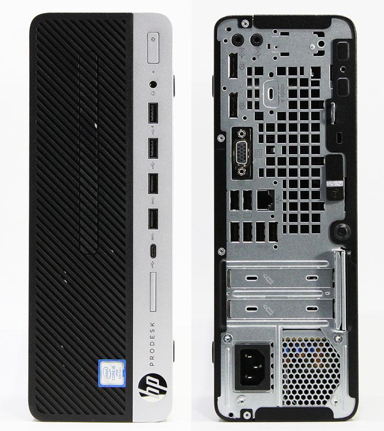 【良品中古】 HP ProDesk 600 G5 SFF [6DX60AV] (Core i5-9500 3.0GHz/ メモリ8GB/ SSD256GB/ DVDスーパーマルチ/ 10Pro64bit)