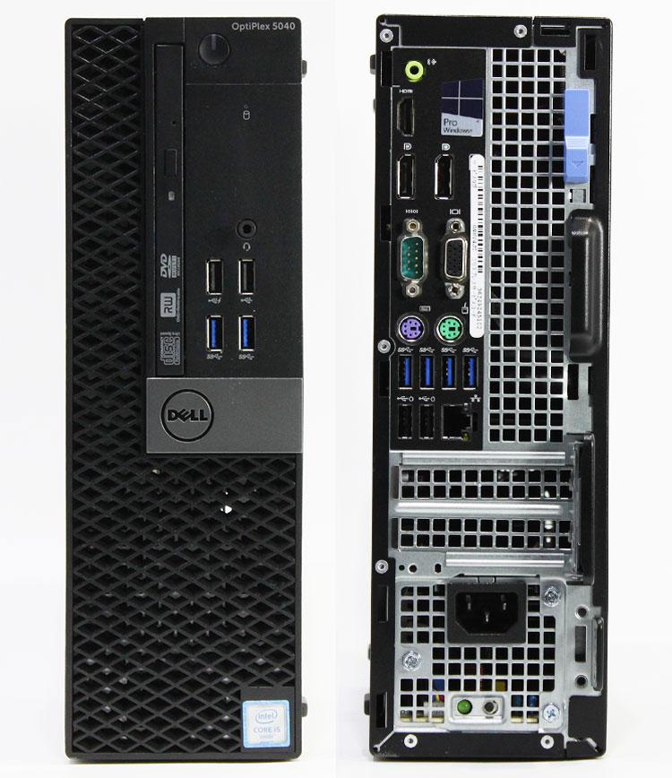 【良品中古】 DELL Optiplex 5040 SFF (Core i5-6500 3.20GHz/ メモリ8GB/ SSD256GB+HDD500GB/ DVDスーパーマルチ/ 10Pro64bit)