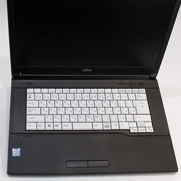 【良品中古】富士通 15.6型 LIFEBOOK A579/A [FMVA62005] (Core i3-8145U 2.1GHz/ メモリ4GB/ HDD500GB/ DVD-ROM/ 10Pro64bit)
