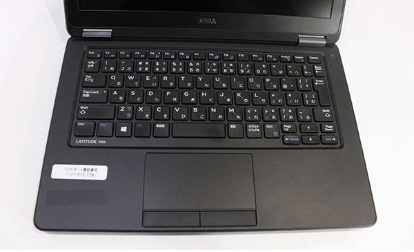 【良品中古】 DELL 12.5型 Latitude 7250 (Core i5-5200U 2.2GHz/ メモリ8GB/ SSD256GB/  Wifi、BT/ 10Pro64bit)