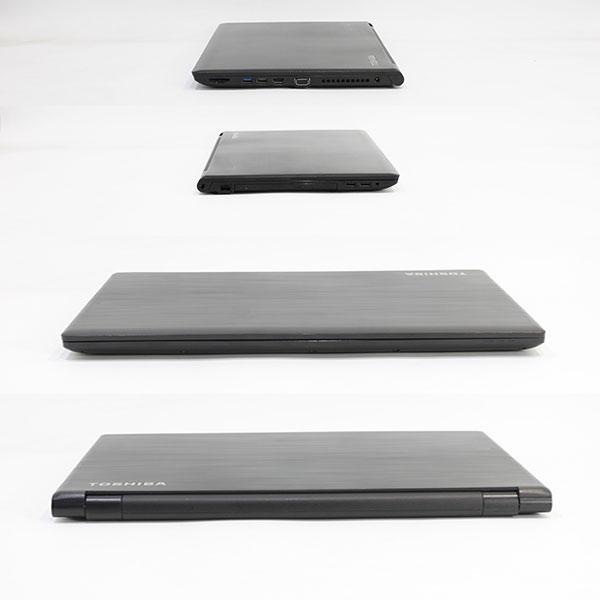 【中古・難有】 TOSHIBA 15.6型 dynabook Satellite B65/R [PB65READ4R7AD81] (Core i5-5200U 2.2GHz/ メモリ8GB/ SSD240GB/ -/ Wifi、BT/ 10Pro64bit)※画面キズ・シミあり
