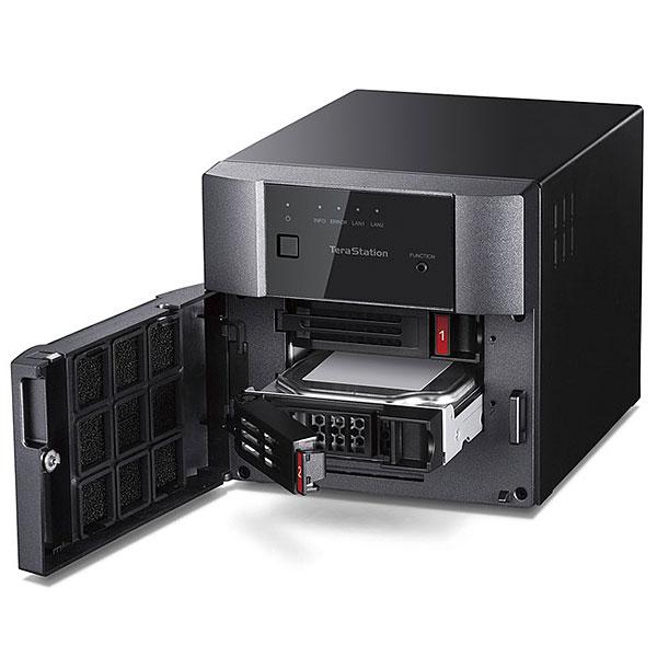 【新品】 BUFFALO TeraStation テラステーション 4TB(2ドライブ) NAS [TS3220DN0402]