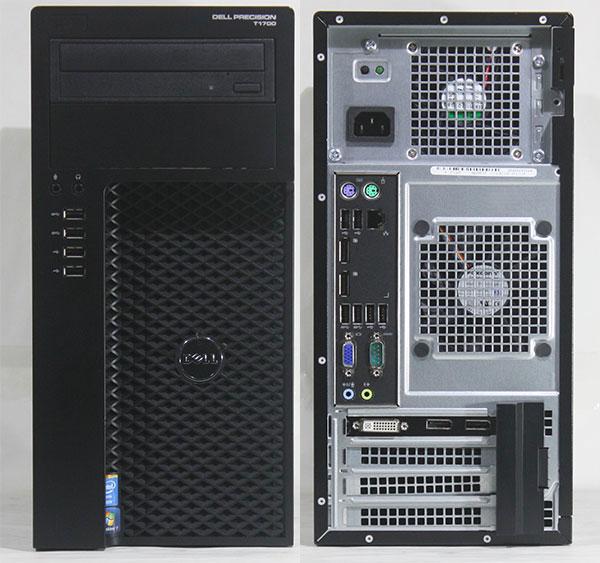 【良品中古】 DELL PRECISION T1700 (Xeon E3-1271v3 3.6GHz / メモリ32GB/ SSD240GB/ DVD-ROM / Quadro K2200/ 10Pro64bit)