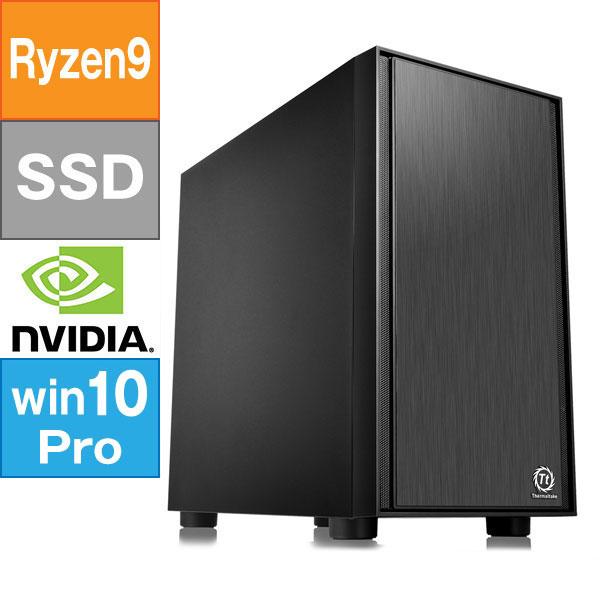 【BTO】 ミドルタワー型BTO (Ryzen 9 3900X 3.8GHz/ メモリ16GB/ SSD1.0TB/ GeForce RTX2060 SUPER 8GB/ 10Pro64bit)オリジナルBTO