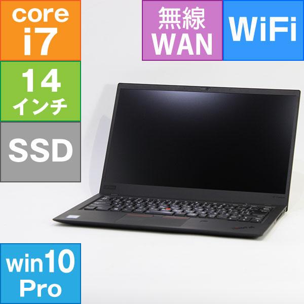 【中古・難有】Lenovo 14型 ThinkPad X1 Carbon 6th Gen [20KG-S3FU01] (Core i7-8650U 1.9GHz/ メモリ8GB/ SSD512GB/ Wifi(ac),BT/ 10Pro64bit) ※画面キズ、シミあり