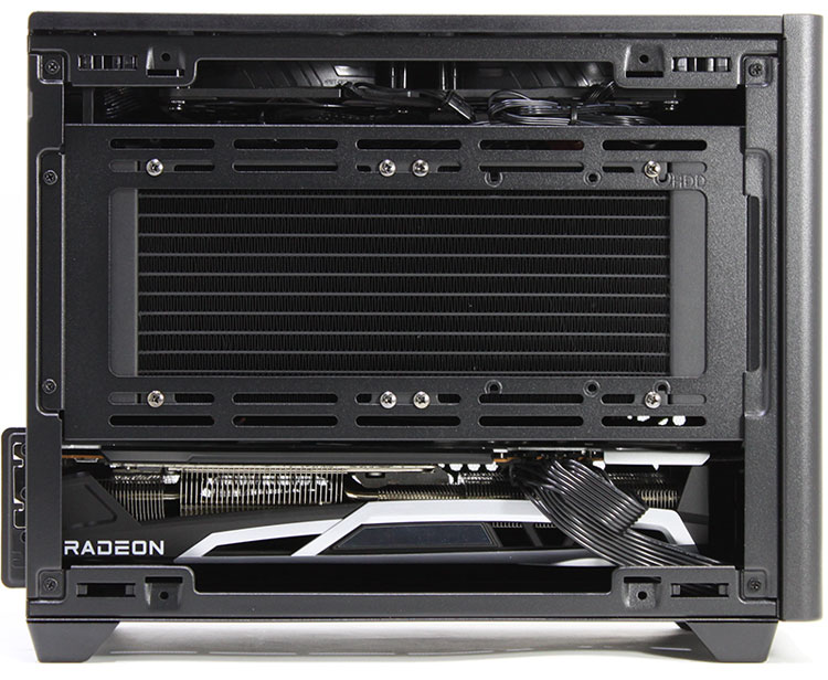 【BTO】 ゲーミング Mini-ITX型BTO (Ryzen 7 5800X 3.8GHz/ メモリ16GB/ SSD500GB/ Radeon RX6800OC/ 10Pro64bit)
