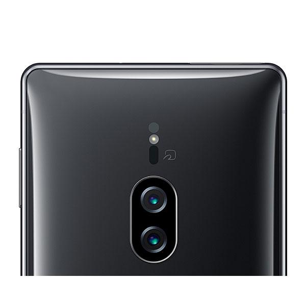 【良品中古】Xperia XZ2 Premium SOV38 au SIMフリー クロムブラック(3840×2160/ USB Type-C/ Qi充電対応/ 防水・防塵/ ランクA)