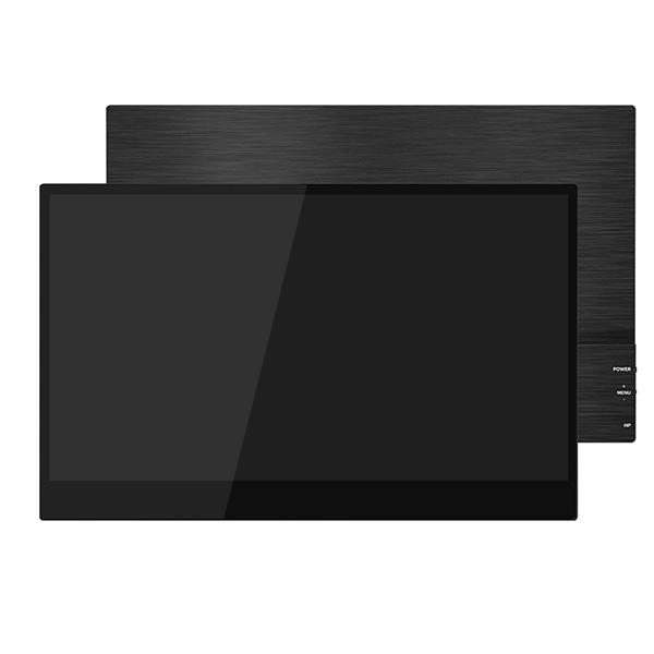 【新品】 GieS 15.6インチ FHD極薄型 タッチパネル モバイルモニター[HS156PET](IPS液晶/10-pointタッチ/ 1080P+HDR/ スピーカー内蔵/ USB-PD対応)