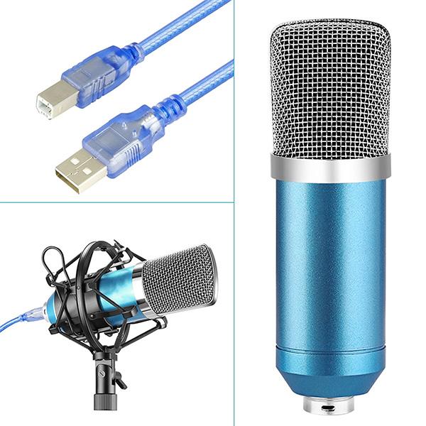 【新品】 Green Audio USB コンデンサーマイクキット [GAM-800B]  (USB接続/ 単一指向性)