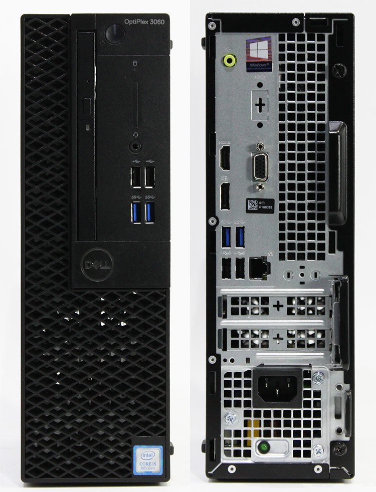【良品中古】 DELL Optiplex 3060 SFF (Core i5-8400 2.8GHz/ メモリ8GB/ SSD256GB+HDD500GB/ DVDスーパーマルチ/ 10Pro64bit)