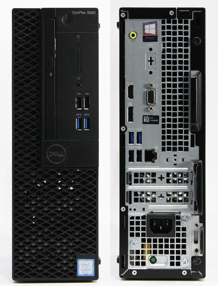 【良品中古】 DELL Optiplex 3060 SFF (Core i5-8400 2.8GHz/ メモリ8GB/ SSD256GB+HDD500GB/ DVDスーパーマルチ/ 10Pro64bit)