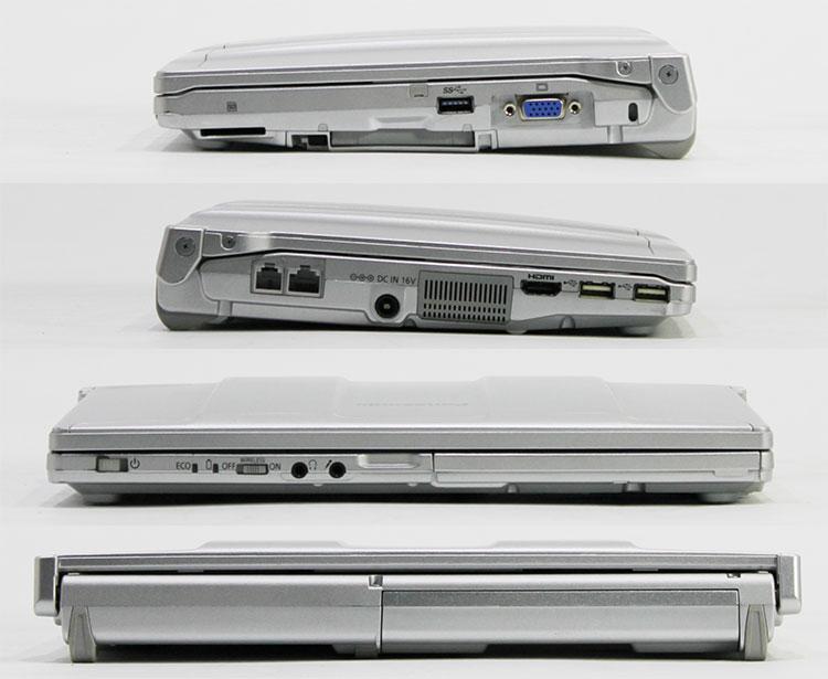 【中古・難有】 Panasonic 12.1型 Let'sNote N10 [CF-N10EWHDS] (Core i5-2540M 2.6GHz/ メモリ8GB/ SSD240GB/ Wifi/ 10Pro64bit) ※画面キズ・シミあり
