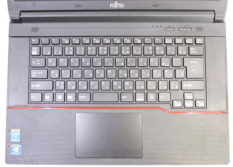 【良品中古】富士通 15.6型 LIFEBOOK A574/H [FMVA05008] (Core i3-4000M 2.4GHz/ メモリ8GB/ SSD240GB/ DVD-ROM/ 10Pro64bit)